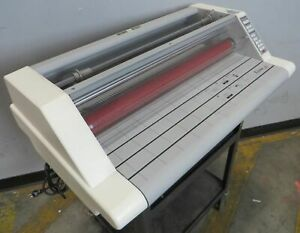 Gbc Ultima 65 27 Hot Roll Table Top Laminator Machine Tested