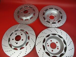 Mercedes S63 S65 Amg Front And Rear Brake Rotors 500 Topeuro