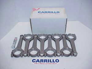 8 New 6 320 Carrillo Tapered Beam Rods 1 850 787 895 With F F Oiling
