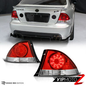 Fit 2001 2005 Lexus Is300 Altezza Red Clear Style Bright Led Tail Light Assembly