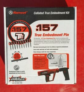 New Ramset Te12xt 10 pin Collated Stips For The Xt540 With Xtmag 1000 Per Box