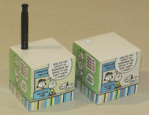 Lot Of 2 Hallmark Notepad And Pen Bloc Notes 650 Sheets Each Peanuts Snoopy