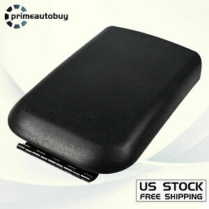 Fit 2005 2009 Ford Mustang Black Center Console Armrest Lid Cover 5r3z6306024aac
