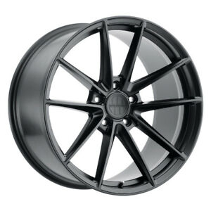 Victor Equipment Zuffen Rim 18x11 5x130 Offset 55 Matte Black quantity Of 4