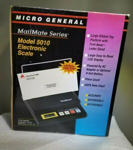 Mailmate Micro General Mg5010 Shipping Scale 10 Ibs X 0 1 Oz Capacity