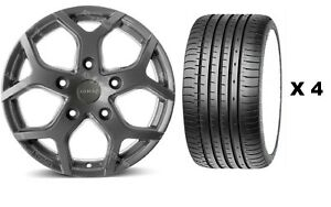 18 Mgm Cobra Tyres Alloy Wheels Fit Ford Transit 2nd Generation 1986 2003