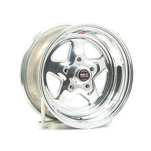 Weld Racing Prostar Polished Wheel 15 x7 5x4 75 Bc Set Of 2 96 57276 2