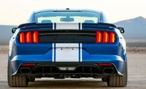 2015 19 50th Anniversary Super Snake Ford Mustang Shelby Decklid Trim Panel