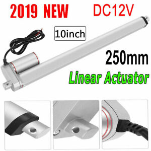 250mm 10inch Electric Linear Actuator 800n Max Lift Heavy Duty 12v Volt Dc Motor