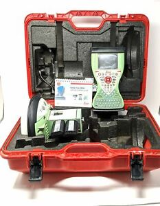 Leica Gs15 Cs15 Field Collector Gnss Uhf Receiver Package For Surveying 430 470m