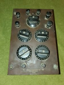 Leeds Northrup Wheatstone Bridge Vintage Antique 1940 s