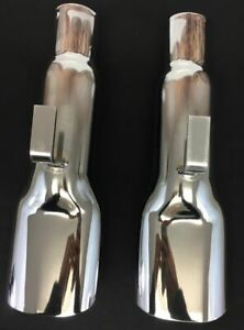 1968 1970 Plymouth Road Runner Gtx Superbird Chrome Exhaust Tips 2883826 Mopar