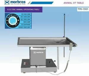 Tmi 1301 Veterinary Operating Surgical Animal Ot Table With Up