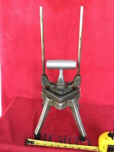 Vintage Heavy Duty Industrial Commercial French Fry Potato Cutter Maker Slicer