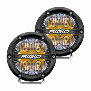 Rigid 36118 In Stock 360 Series 4 Led Off Road Lights Amber Backlight
