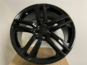 18x8 0 Gloss Black Set Of Four Alloy Accord Sport Hfp Style Wheels Fits Honda