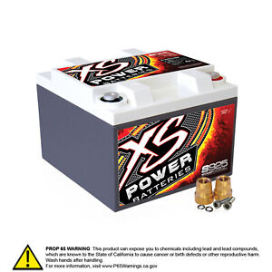 Xs Power S925 12 Volt Agm Battery Max Amps 2000a Ca 550a Starting Battery Aut