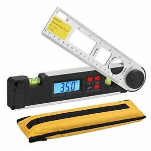 Neoteck Digital Inclinometer Protractor 0 270 Backlight Angle 270 Degree