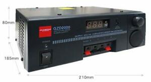 Gzd2000 Switching Mode Dc Stabilized Power Supply Rohs Ac100v From Japan