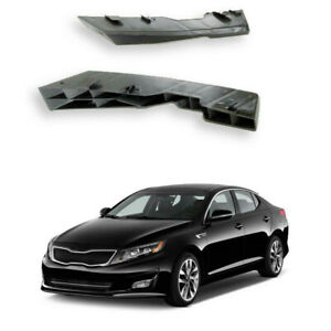 For 2011 2012 2013 Kia Optima Front Bumper Retainer Bracket Side Support 2pcs