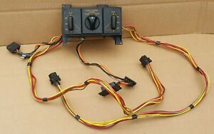 1992 1993 Corvette Dual Power Seat Switches Fx3 Switch Good Condition C4