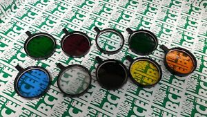 Set Of Light Filters For The Microscope 9 Pieces Of Lomo Ussr Diameter 63mm