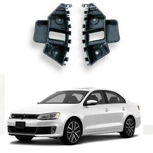 For 2011 2014 Vw Jetta Front Bumper Support Retainer Brackets Spacer Left Right