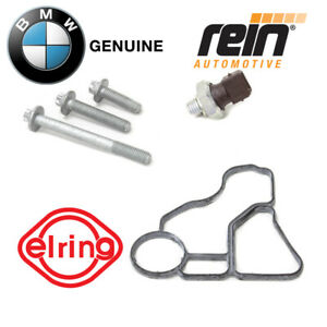 Engine Oil Filter Housing Gasket Kit Bmw Oil Pressure Switch Gasket And Bolts