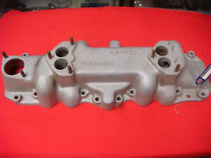Ford 1938 1948 Flathead Weiand Intake Manifold Coupe Roadster Truck Dual Carbs