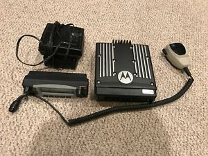 Motorola Xtl5000 Xtl 5000 Digital Radio W Hln1467e Control Head Mic Speaker 2