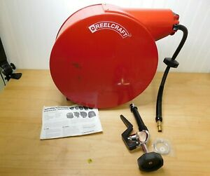 Reelcraft Spring Retractable Hose Reel 3 8 X 35 Ft 250 Max Psi 5635 Elpsw5