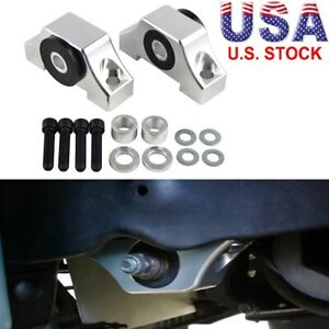 Silvery Engine Motor Torque Mounts Fits Acura Integra Gs Ls Type R Rs 1 8l 94 01