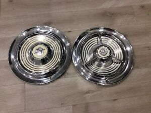 Oldsmobile 1953 54 55 Fiesta Spinner Hubcap And One Extra