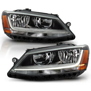 For 11 18 Vw Jetta 4 dr a6 Typ 1b Repalcement Headlight Led Neon Tube Drl Lamp