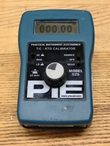 Pie 525 Automated Thermocouple Calibrator T c Rtd