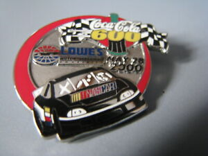 2000 COCA-COLA 600 LOWES MOTOR SPEEDWAY CHARLOTTE NASCAR RACING EVENT HAT PIN