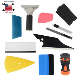 11x Car Window Tint Tool Kit Auto Film Tinting Squeegee Application Installation