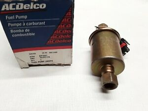 Acdelco Ep1001 Fuel Pump Gm 15161174 2001 2014 Duramax Diesel Electric
