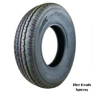 4 four New St235 80r16 Premium Trailer King St Radial Tires 12py 2358016 Tks25