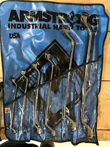 Armstrong 27 570 Long Length Box End Wrench Set Imperial 6 Pieces 3 8 To 1 1
