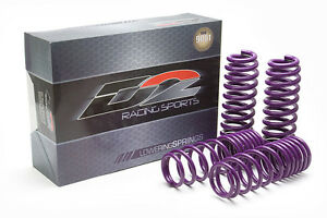 D2 Racing Lowering Springs For 05 06 Acura Rsx Dc5 Base Type S Drop F 2 R 2