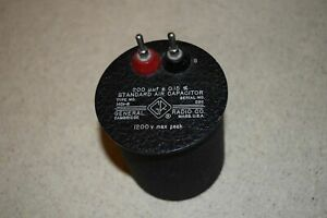 General Radio Co Standard Air Capacitor Type 1401 b 200 Uuf 0 15 8