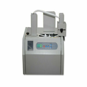 Automatic Banknote Invoice Bill Banding Strapping Machine Paper Tape Money