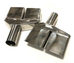 70 71 72 73 74 Dodge Challenger 2 Stainless Steel Exhaust Tips