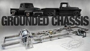 New Tci Lowrider 1953 1956 F 100 Pickup Panel Complete Airride Chassis