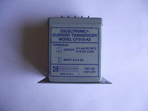 Scientific Columbus Electronic Current Transducer Model Ct 510 a2
