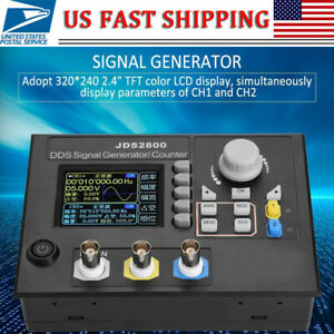 Us Jds2800 60mhz Dds Function Arbitrary Waveform Signal Generator Software