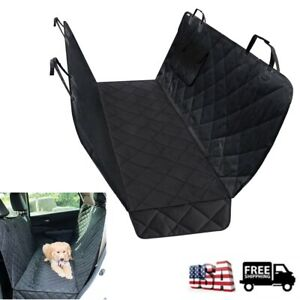 Waterproof Dog Car Seat Cover Hammock For Pet Car Back Rear Bench Pad Mat Covers