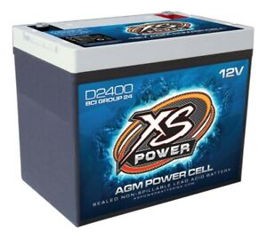 Xs Power Battery Xs Power Agm Battery 12 Volt 800a Ca D2400