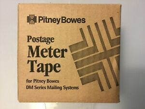 New In Box Pitney Bowes Postage Meter Tape 627 8 3 Rolls B594 b595